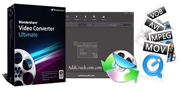 Wondershare Video Converter 12.0.7 Crack + Serial Key Download