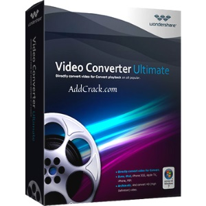 Wondershare Video Converter Crack + Serial Key