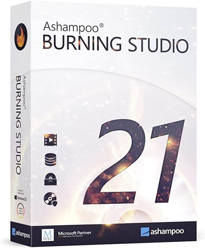 Ashampoo Burning Studio Crack 22.0.0 + Serial Key 2021