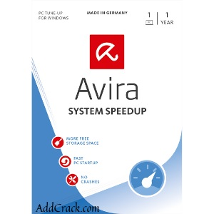 Avira System Speedup Pro Crack 6.8.0.11045 Free Download