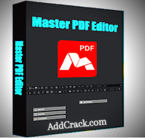 Master PDF Editor 5.6.80 + Crack (Latest Version)