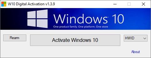 W10 Digital Activation Program v1.3.9.0 Portable Download