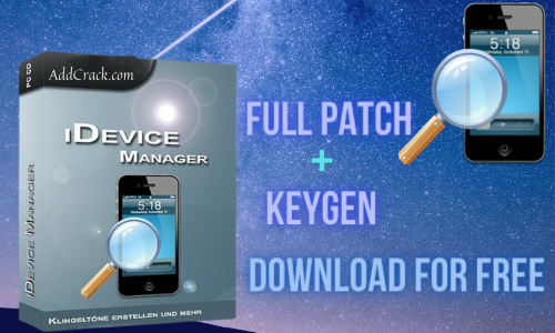 iDevice Manager Pro 10.5.0.0 Crack With License Key [Latest 2021]