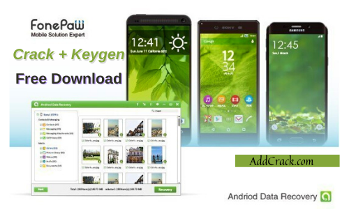 FonePaw Android Data Recovery 7.8.0 Crack Free Download