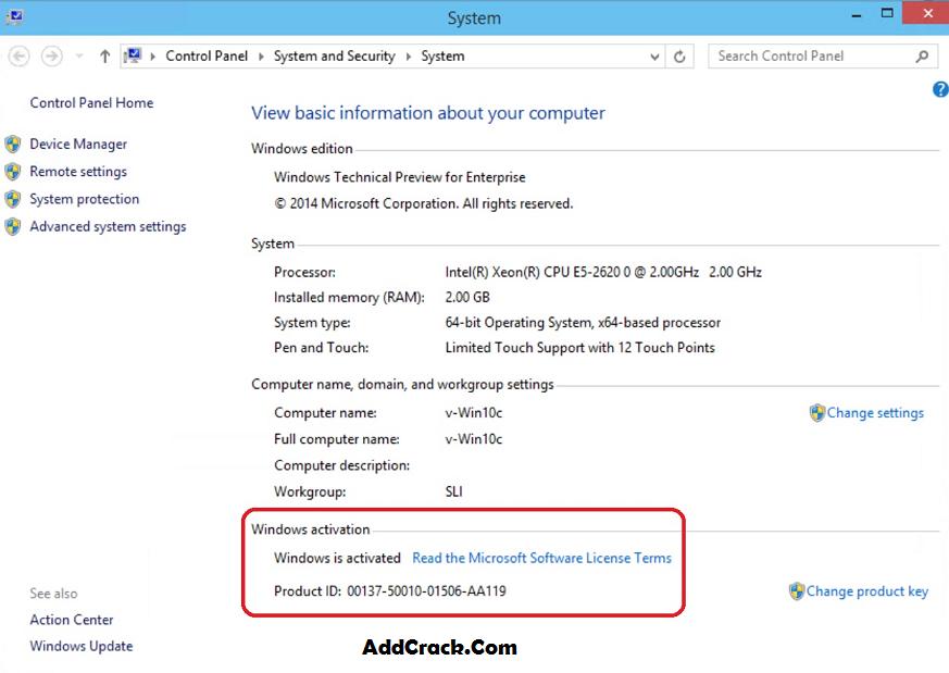 Windows 10 Activator Crack Download