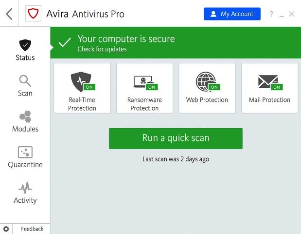 Avira Antivirus Pro Crack With License Key Download
