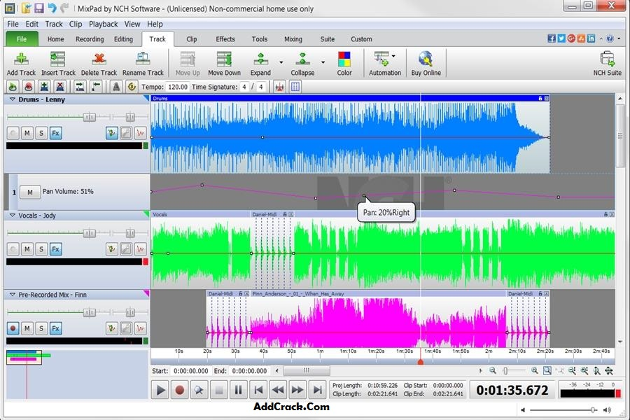 MixPad Crack Download