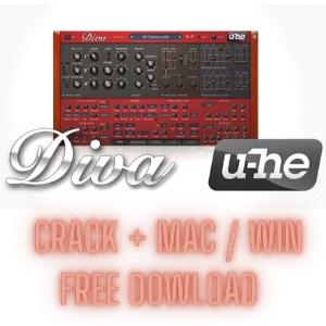 u-he Diva Crack v1.4.4 for Windowss 2021